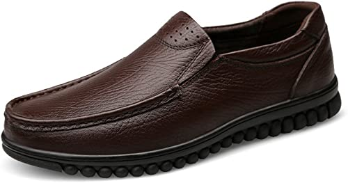 GYB Style Style de Conduite Homme Mocassins Semelle Vague Sole en Cuir Hollywood Chaussures Chaussures habillées Chaussures en Cuir pour Hommes  économisez jusqu'à 30-50%