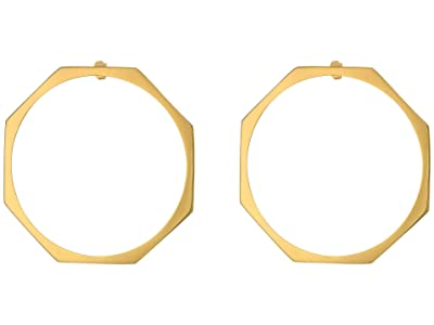 Miansai Ponti Earrings Large (Polished Gold) Earring