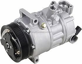 AC Compressor & A/C Clutch For VW Golf GTI Jetta Passat CC New Beetle Eos Tiguan R32 Audi A3 Q3 TT A4 Allroad Quattro - BuyAutoParts 60-02038NA New