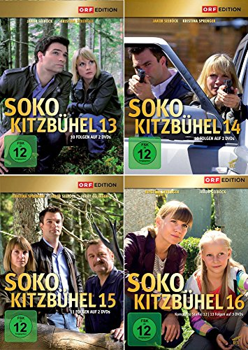 SOKO Kitzbühel - Box 13-16 (9 DVDs)