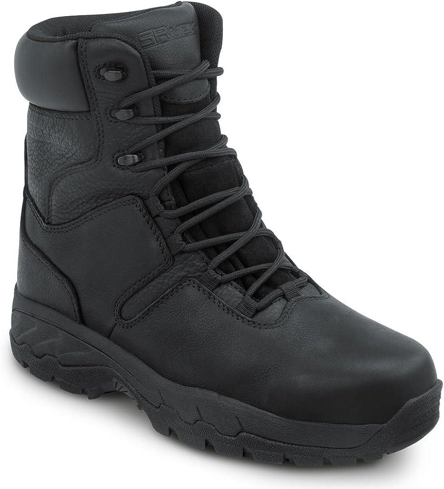 SR Max Bear, Women's, Black, Comp Toe, EH, Waterproof, Insulated Slip Resistant 8 Inch Work Boot