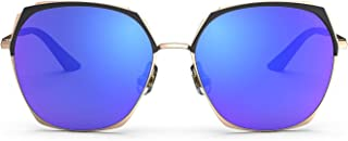 RIVBOS Fashion Sunglasses for Women Nylon Lens Chic Lady Shades Modern Design for Driving Traveling UV400 Protection RB-P1