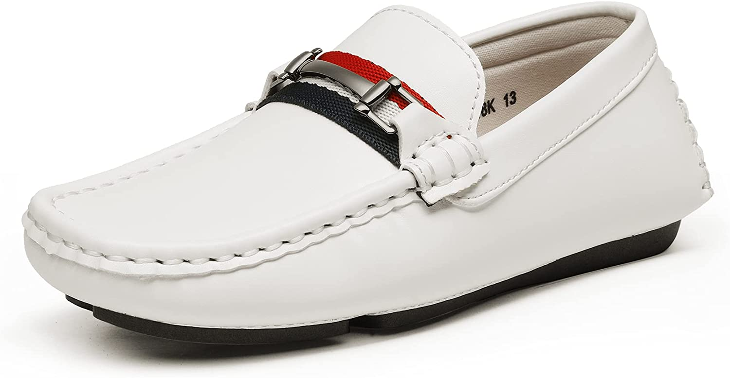 Bruno Marc Boy's Loafer Shoes Slip-On Ranking TOP17 Max 61% OFF Dress