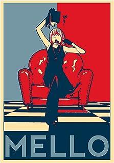Instabuy Poster Death Note Propaganda Mello - A3 (42x30 cm)