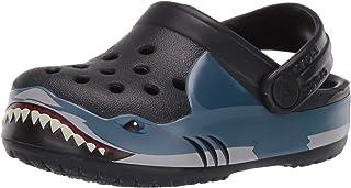 Kids' Fun Lab Shark Band Clog | Slip On Shark Shoes for Kids