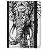 caseable - Funda para Kindle y Kindle Paperwhite, diseño 'Ornate Elephant'