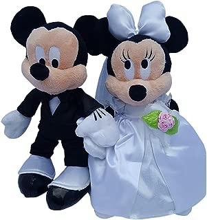 Disney Mickey & Minnie Mouse Plush Wedding Set 9
