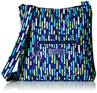 Vera Bradley Hipster Crossbody Bag/Purse in Blue Katalina Showers