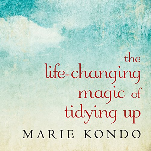 The Life-Changing Magic of Tidying Up     The Japanese Art of Decluttering and Organizing              Written by:                                                                                                                                 Marie Kondo                               Narrated by:                                                                                                                                 Emily Woo Zeller                      Length: 4 hrs and 50 mins     460 ratings     Overall 4.5