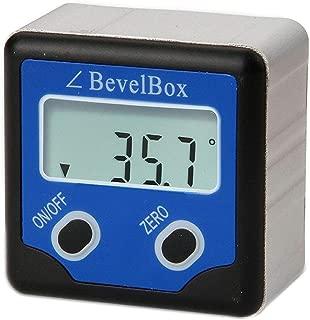 Digital Light Weight Bevel Box Gauge Angle Protractor Magnetic Angle Gage Level/Protractor/Bevel Gauge fo Handyman, DIY tools