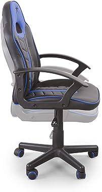 Home Heavenly® Chaise de gaming Win, chaise pivotante pour enfants, fauteuil Gamer avec roues ergonomiques, design moderne, p