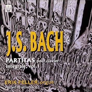Bach : Intégrale des partitas pour clavier, vol. 1