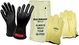 Salisbury - GK011B/12 - Black Electrical Glove Kit, Natural Rubber, 0 Class, Size 12