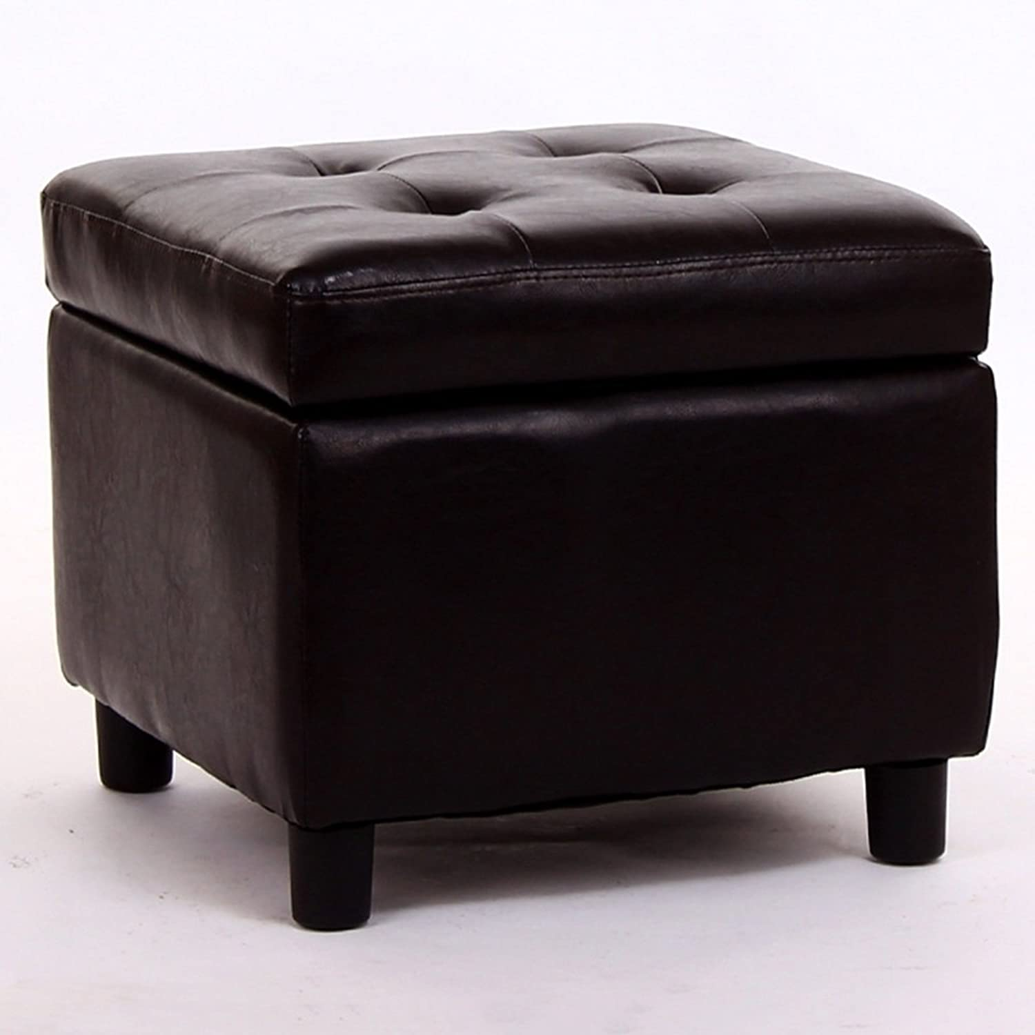RUNWEI Stool Storage Sofa Bench Multi-Purpose shoes Bench (color   Brown)