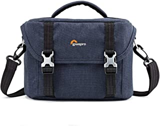 Lowepro Protective;Durable;Retro Scout SH140 Shoulder Bag for Mirrorless Camera, Blue Denim, (LP36932-0WW)