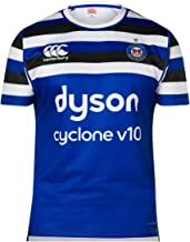 Canterbury 2018-2019 Bath Home Pro Vapodri Rugby Football Soccer T-Shirt Jersey