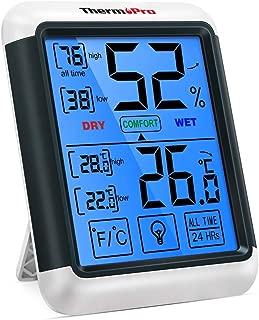 ThermoPro TP55 Termómetro Higrómetro de Interior para Casa