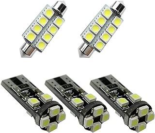 For SKODA Octavia RS Fabia Rapid Dome Interior Led Lights Bulbs Kit Accessories Ultra Bright White 5Pcs