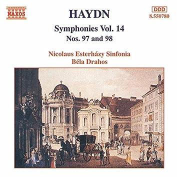 HAYDN: Symphonies, Vol. 14 (Nos. 97, 98)
