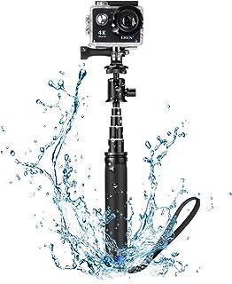 Selfie Stick, 71 cm Waterproof Handheld Monopod with Action Camera Adapter, BlitzWolf Mini Extendable Aluminum Selfie Stic...