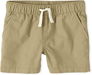 The Children's Place Baby Boys' Solid Jogger Shorts