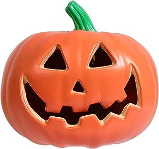 SOLUSTRE Halloween Pumpkin Lamp Pumpkin Lantern Jack-O-Lantern Halloween LED Lights for Halloween Party Decor
