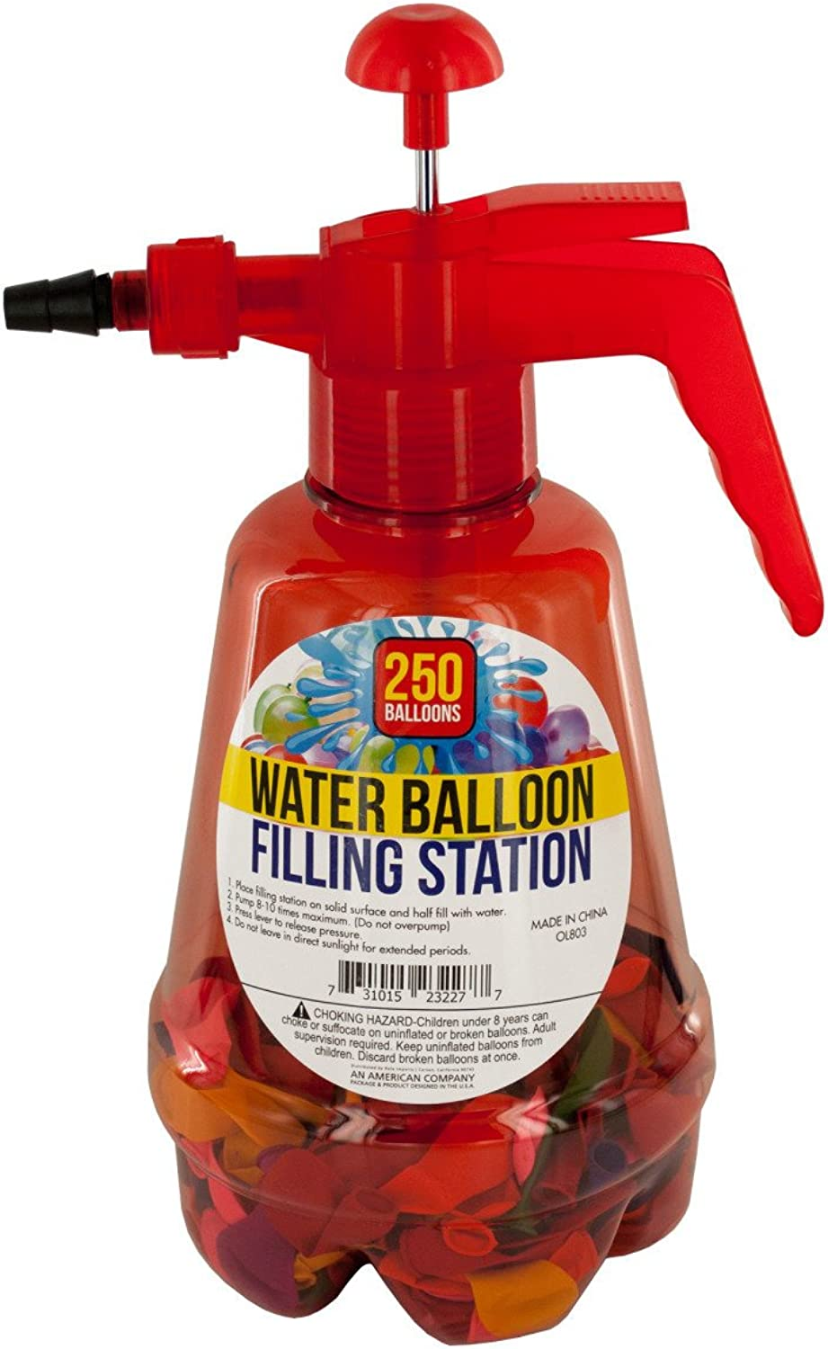 Water balloon filling station