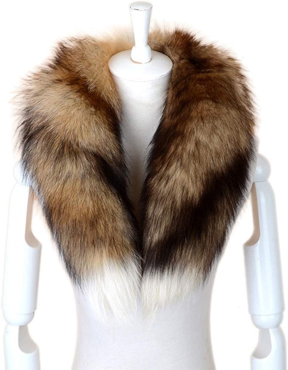 Lafee Bridal Women's Faux Fox Fur Neck Scarf Wrap Shawl Warm Winter Coat Coller Shurg