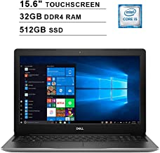 2019 Newest Dell Inspiron 15 3593 15.6 Inch Touchscreen FHD Laptop (10th Gen Inter 4-Core i5-1035G1 up to 3.6GHz, 32GB DDR4 RAM, 512GB SSD, Intel UHD Graphics 620, Windows 10, Silver)