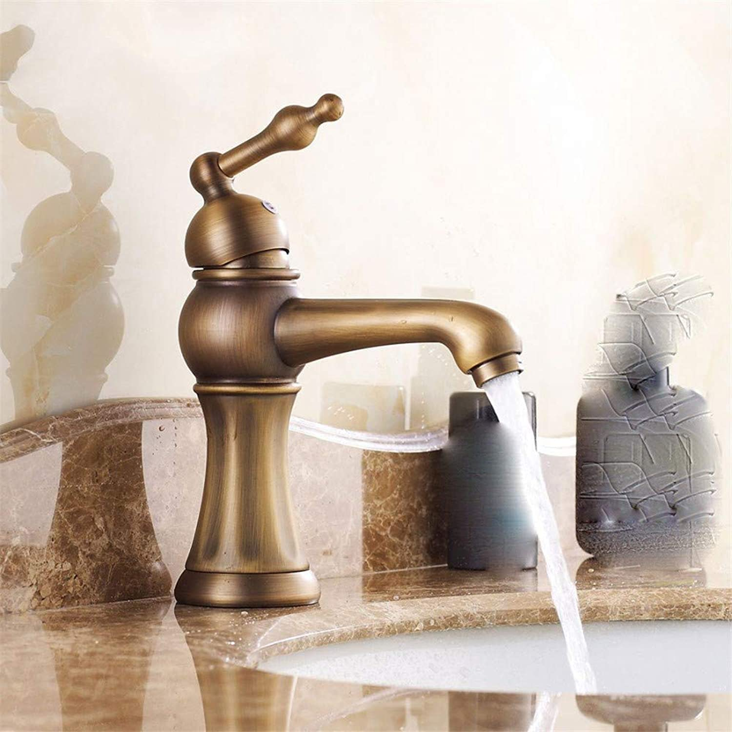 Water Tap Basin Copper Hot and Cold Single Hole redation Modern Taps Kitchen Brass Faucet Bathroom Sink Waterfall Tap Mixer Water Washroom Bath Tub Shower