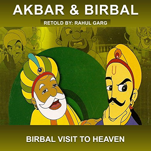 Birbal Visit to Heaven audiobook cover art