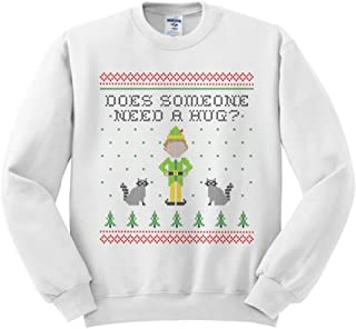Elf Someone Needs a Hug Sweatshirt Unisex