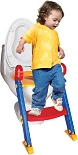 Portable Potty Training Ladder Step Up Seat For Boys And Girls With Anti-Skid Feet