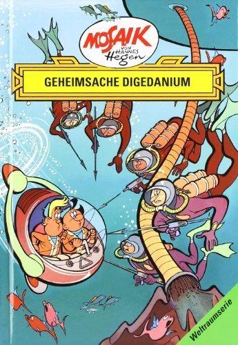 Die Digedags. Weltraum- Serie 03. Geheimsache Digedanium. by Hannes Hegen Lothar Dräger Edith Hegenbarth(2001-10-01)