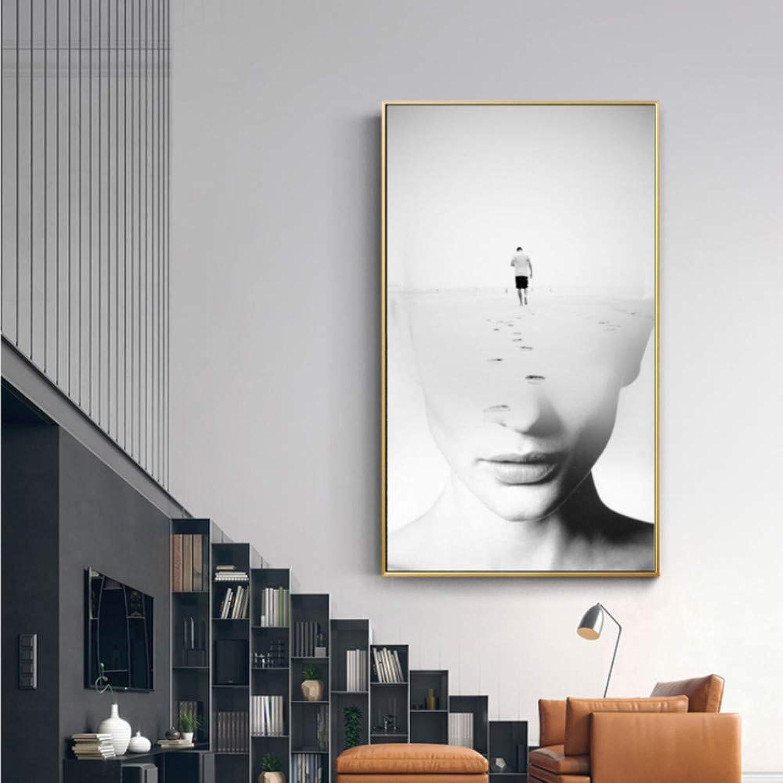 Venta en línea precio bajo descuento Gaowei Abstractos Modernos Carteles e Impresiones Arte de la la la Parojo Pintura de la Lona Viaje Justo Arte de la Parojo Cuadros para la Sala de Estar Decoración Nórdica 60x120cm  a la venta