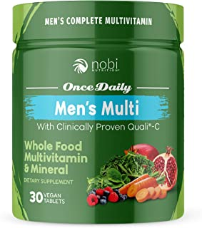 One Daily Multivitamin for Men - with Whole Food Vitamins - Immune Support with Clinically Proven Vitamin C, Vitamin D, Zi...