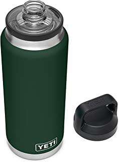 YETI Rambler 36 oz Bottle, Vacuum Insulated, Stainless Steel with Chug Cap