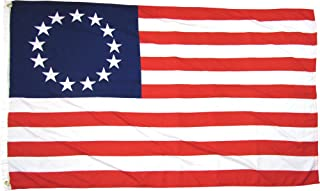 Best Betsy Ross 13 Star USA American 3x5 Feet Flag by TrendyLuz Flags Review