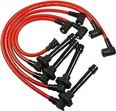 JDMSPEED New Spark Plug Wire Set For Honda Civic Del Sol 92-00 EG EK EJ D15 D16 Spiral Core