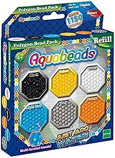 Aquabeads-La Recharge Perles polygonales Star Wars Loisirs créatifs, 30048, Multicolore