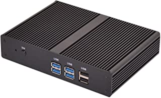 HUNSN Fanless Mini PC,Desktop Computer,HTPC,Kodi Box,Intel Celeron 2955U,BM05,AC WiFi2.4+5Ghz/BT4.0/VGA/HDMI/LAN/4USB3.0/2...