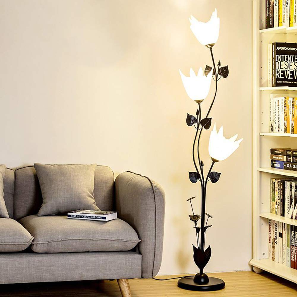HLF- Lámpara de pie Moderna Simple de la Sala de Estar, lámpara de ...