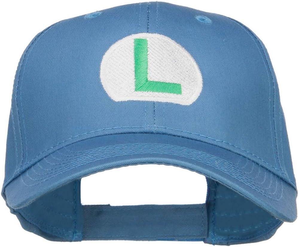 Ice Mario Luigi Embroidered Cap