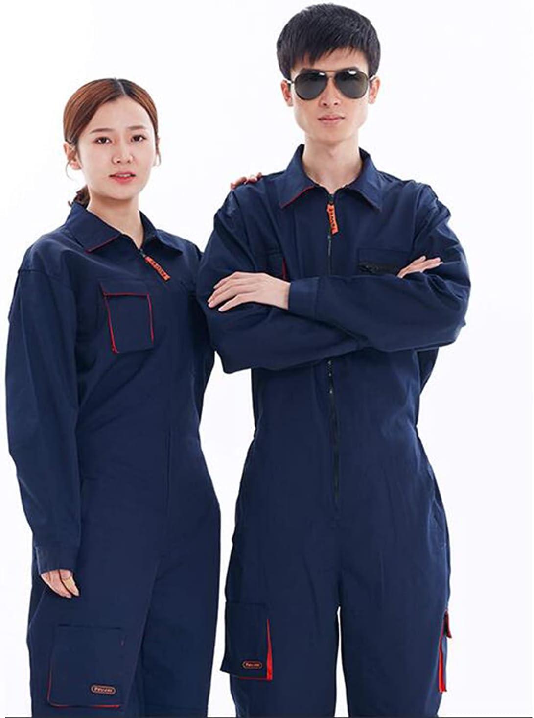 Work Overalls Gifts Uniforms Men Women It is very popular Wo Repair Coveralls Car Working