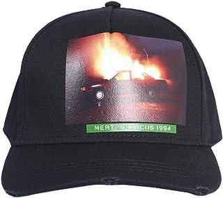DSQUARED2 Mens BCM020608C000012124 Black Cotton Hat