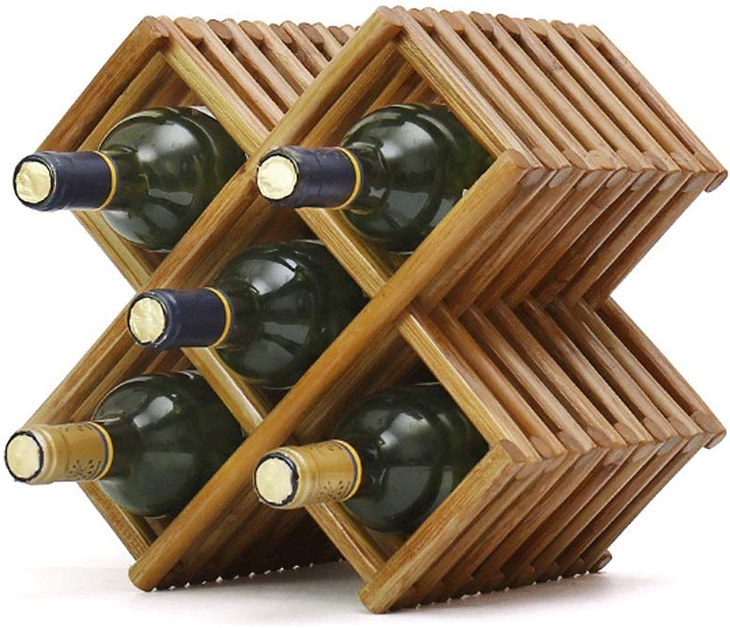 Great St. Wine Rack Solid Wood greenical Storage Rack (color   2) (color   1, Size   -)