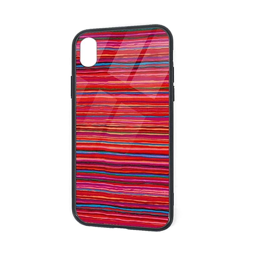 Compatible with iPhone XR Case Collective Strata Red Anti-Scratch Shock Absorption Phone Cover Case