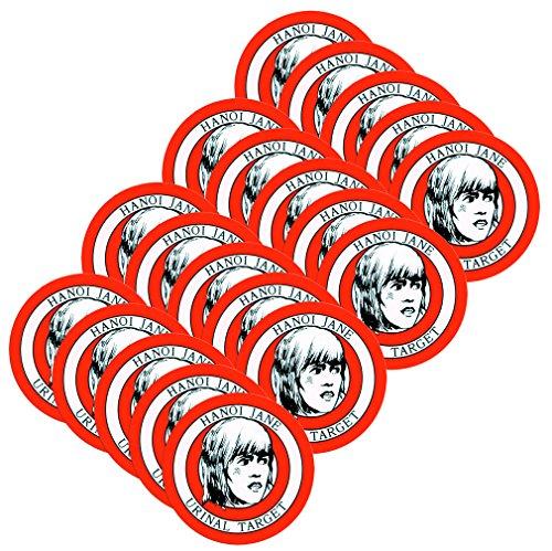 AV8America Hanoi Jane Urinal Target, Package of 20