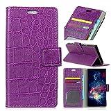 Funda® Flip Wallet Case for Doogee BL5000 (Purple)