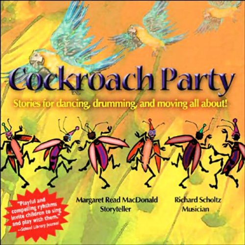 Cockroach Party audiobook cover art
